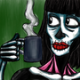 Coffee of the dead by BeneathTheFloorboard