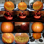 Pumpkin carving 5 hours by ninjaslave