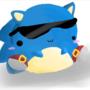 Chibi Sonic by tailsbuddy