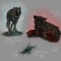 Wolf Cyborgs by Schweetz