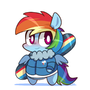 Rainbow Dash by LoserLife