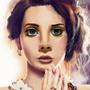 Lana Del Rey a.k.a Lizzy Grant by mspopsie21