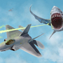 """Flying Sharks"" by Surfsideaaron"