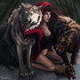 Miss Riding Hood by Louise-Goalby