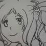 Drawing of Inori Aizawa by BoxKitsune