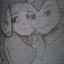 Manga - Avatar Aang and Katara by jellewietsma