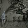 Ruins Interior 001 by HellkiteDrake