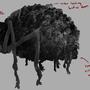 Corpse Spider V1 by HellkiteDrake