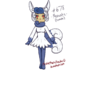 Meowstic (Female) #678 by maxiemarie