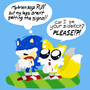 Sonic The Pushover by Mario644
