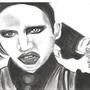 Marilyn Manson by Givanovich