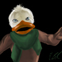 Howard the Duck 1986 by ImmaDrawOnYourFace