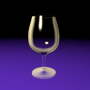 Wine Glass by HelpThePoor