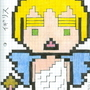 8 bit England Angel (Hetalia) by Aoharu