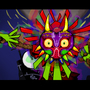 SKULL KID ARGGH by chipcartoons