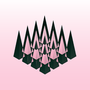Pink triangles by titomungy