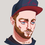 Martin from CHVRCHES by r0b0tb0y