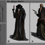 Plague doctor concept art by wartynewt