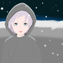 Girl In Snow by FlashGamesNemesis