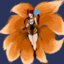 FoxFire Ahri Fanart by LurkinMcClerkin