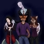 Slenderman and company by CarnieVorex
