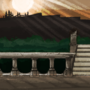 undead parish background by veselekov
