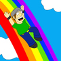 Rainbow Slide by orlyman