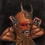 Demon Samurai by FeudalSamurai