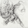 Ziggs in Pencil