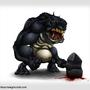 Cave Troll by Kkylimos