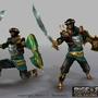 3D Game Character: Persia Hero