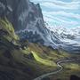Epic landscape by wartynewt