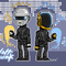 Daft Punk - pixel art