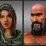 3D Game Characters: Portrait by sanhueza