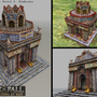 3D Game Model: Persian Temple by sanhueza