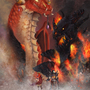 Alexstrasza and Deathwing by Peresal