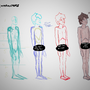 Character sketch - Jon - 1 by KarlChinaski