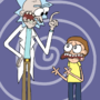 rick and morty by BuddyComics