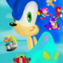 Sonic Adventure Alt. Box Art by sergeant16bit