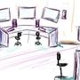 Cut-Edge Gaming Setup by MrQuincy87