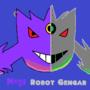 Mega Robot Gengar by nighzz