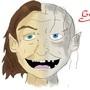 Smeagol / Gollum by Tedecamp
