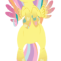 Rainbow Power Fluttershy by January3rd