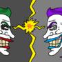 Joker v.s Jester by Tedecamp