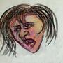 scared girl by hreyas