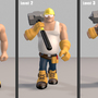 3D game character: Wrecker Lvl by sanhueza