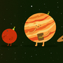 Solar System Party by malcreado