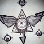 Eye tattoo design thing by FLASHYANIMATION