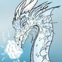 Ice Dragon by PICOSANGELALEX