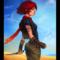 redhead ladyperson